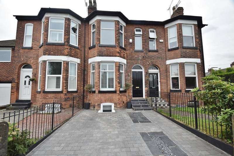 4 Bedrooms Terraced House for sale in Marsland Road, Sale