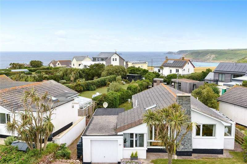 3 Bedrooms Detached Bungalow for sale in Mayon Green Crescent, Sennen, Penzance, Cornwall, TR19