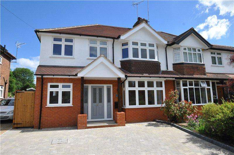 5 Bedrooms Semi Detached House for sale in Laburnum Grove, Chiswell Green, St. Albans, Hertfordshire