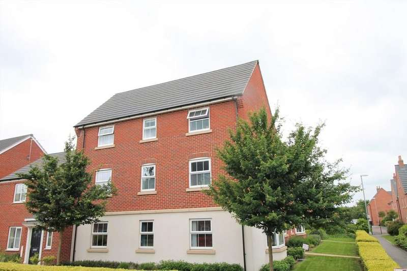 2 Bedrooms Apartment Flat for sale in Angell Drive, Market Harborough