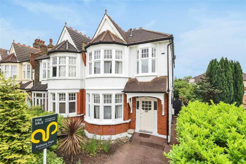 4 Bedrooms Semi Detached House for sale in St Georges Road, Palmers Green, London, N13