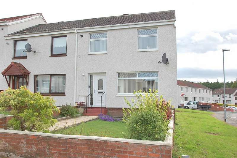 2 Bedrooms End Of Terrace House for sale in Mary Place, Clackmannn FK10