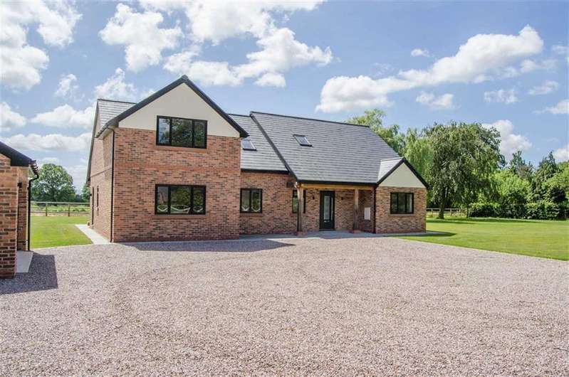 4 Bedrooms Detached House for sale in Rowton Lane, Rowton, Chester, Chester