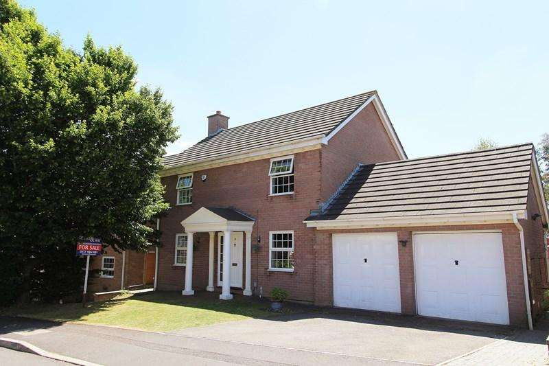 4 Bedrooms Detached House for sale in Tyler Close, Hanham, Bristol