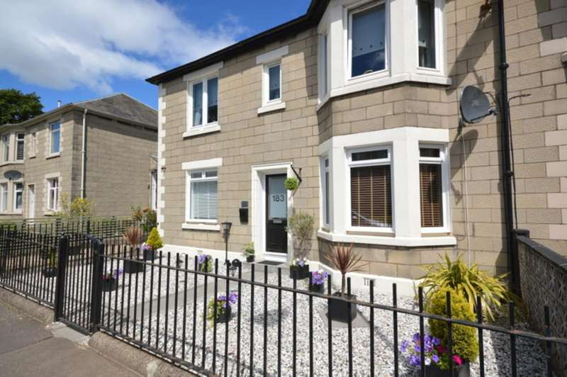 2 Bedrooms Ground Flat for sale in Glasgow Road, Dumbarton G82 1DW