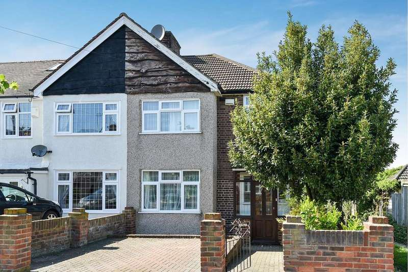 3 Bedrooms Semi Detached House for sale in Greenway, Chislehurst, Kent, BR7 6JG
