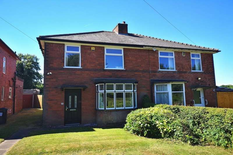3 Bedrooms Semi Detached House for sale in Morden Road, Stechford, Birmingham, B33