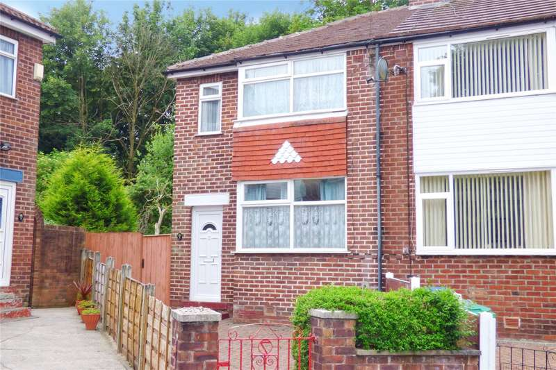 3 Bedrooms End Of Terrace House for sale in Saxelby Drive, Crumpsall, Manchester, M8