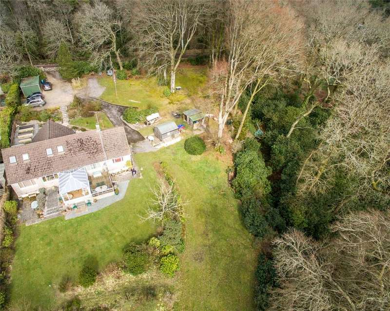 4 Bedrooms Detached Bungalow for sale in Trinity Hill Road, Nr Uplyme, Devon, EX13