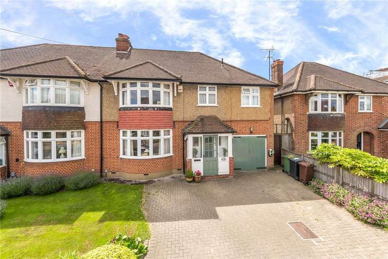 5 Bedrooms Semi Detached House for sale in Dalkeith Road, Harpenden, Hertfordshire