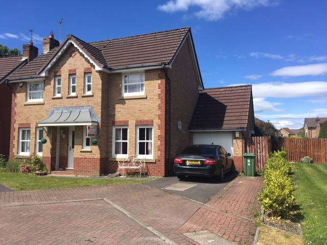 3 Bedrooms Detached House for sale in Deaconsbank Crescent, Thornliebank, Glasgow G46