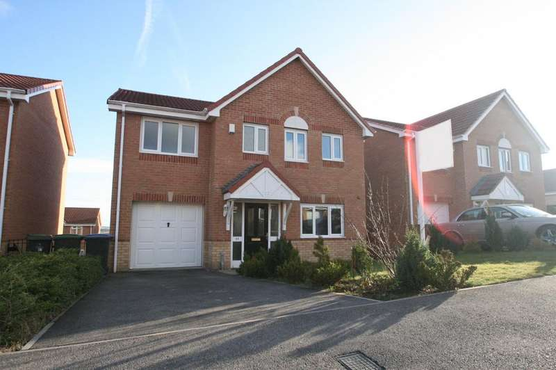 4 Bedrooms Detached House for sale in Langdon Close, Temple Town, Consett, Co Durham DH8