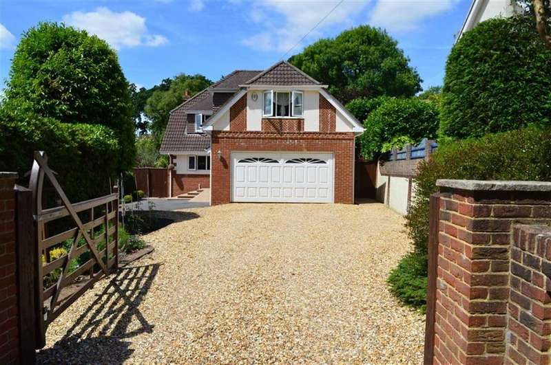 4 Bedrooms Detached House for sale in Beaucroft Lane, Wimborne, Dorset