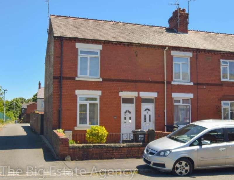 3 Bedrooms End Of Terrace House for sale in Salisbury Street, Deeside, CH5