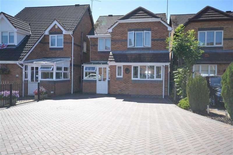 4 Bedrooms Detached House for sale in Nolan Close, Ash Green