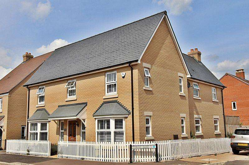4 Bedrooms Detached House for sale in Rutherford Way, Biggleswade