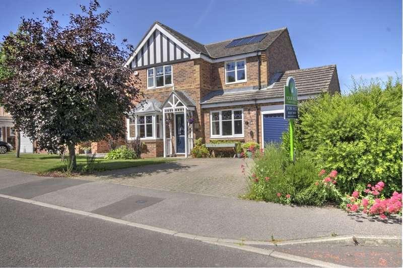 4 Bedrooms Detached House for sale in Castlehills, Castleside, Consett, DH8