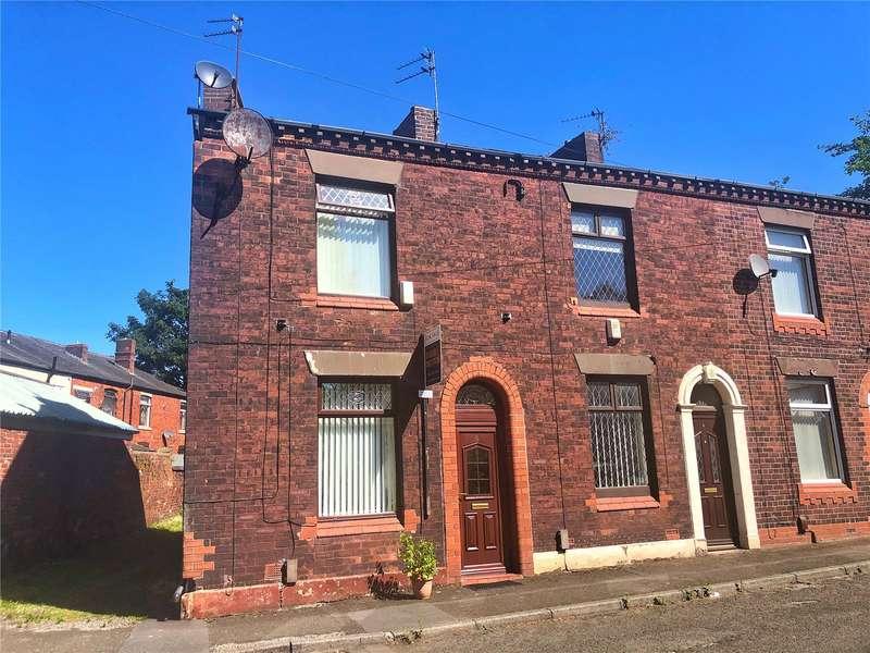 2 Bedrooms End Of Terrace House for sale in Kershaw Street, Royton, Oldham, Greater Manchester, OL2