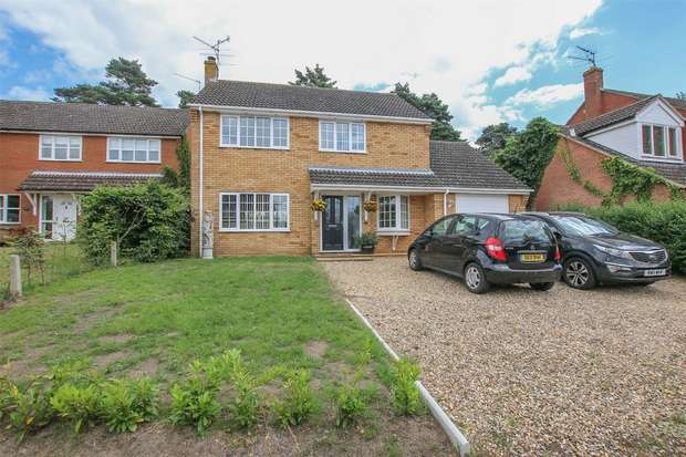 4 Bedrooms Detached House for sale in 5 Malvern Close, South Wootton