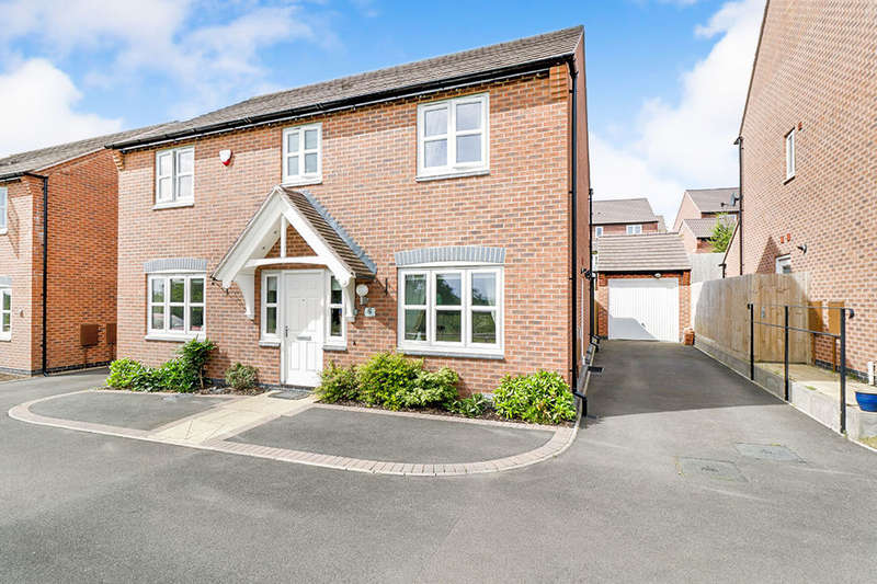 4 Bedrooms Detached House for sale in Helsinki Drive, Hinckley, LE10