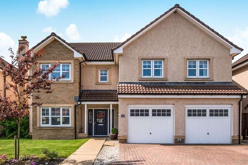 5 Bedrooms Detached House for sale in Cambus Avenue, Larbert, FK5