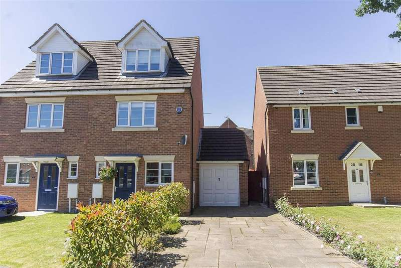 3 Bedrooms Semi Detached House for sale in Upper Croft, Danesmoor, Chesterfield