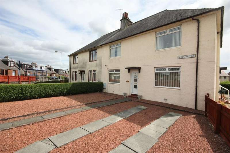 2 Bedrooms Ground Flat for sale in 5 Blair Avenue Hurlford