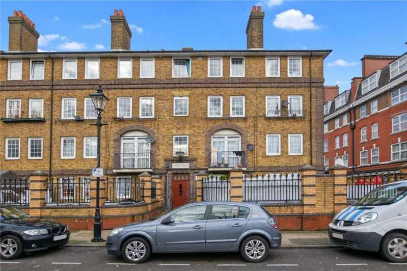 3 Bedrooms Flat for sale in Shelley House, Cornwall Avenue, London E2