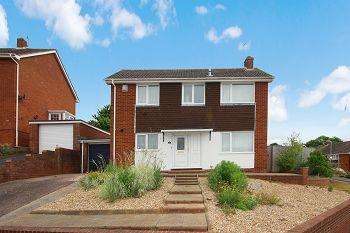 3 Bedrooms Detached House for sale in Aller Vale Close, Broadfields, Exeter, EX2 5NH