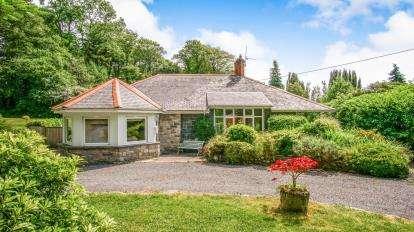 3 Bedrooms Bungalow for sale in Criccieth, Gwynedd, LL52