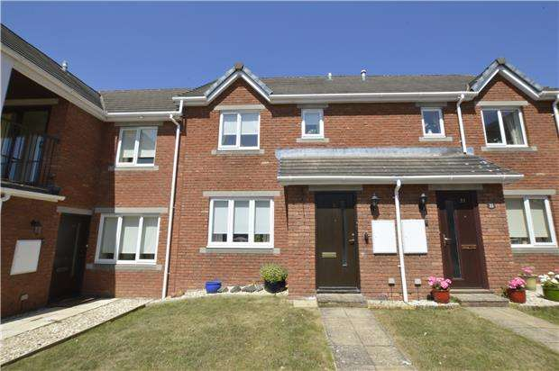 2 Bedrooms Terraced House for sale in Cleeve Lake Court, Bishops Cleeve,GL52