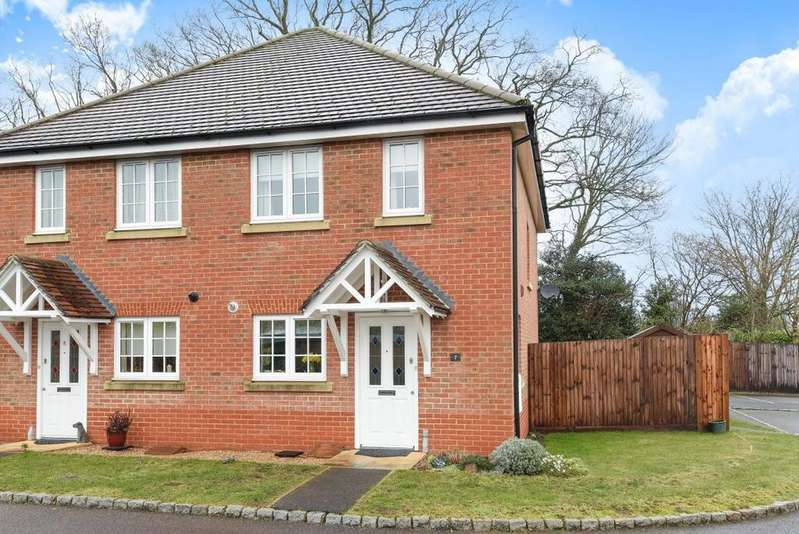 2 Bedrooms Semi Detached House for sale in Tanners Row, Wokingham, RG41