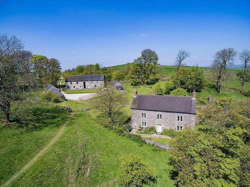 6 Bedrooms Unique Property for sale in Slade House Farm, Ilam, Ashbourne, Derbyshire, DE6 2BB