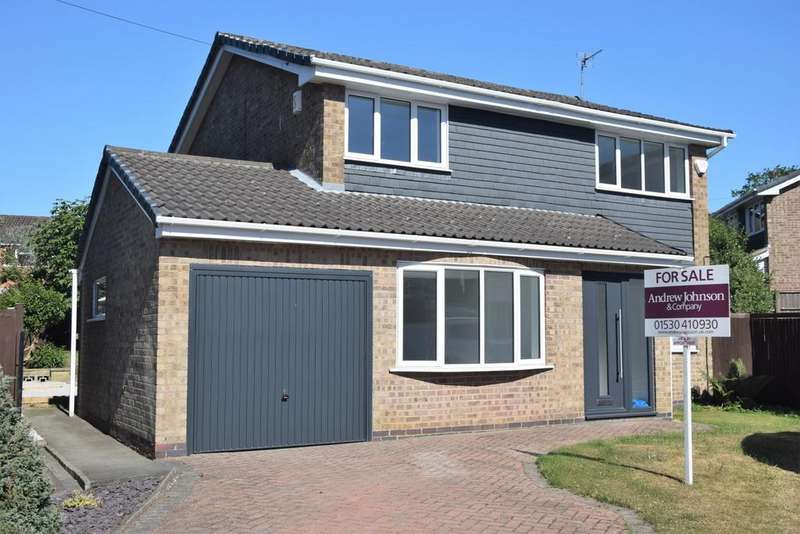 4 Bedrooms Detached House for sale in Drome Close, Coalville, LE67