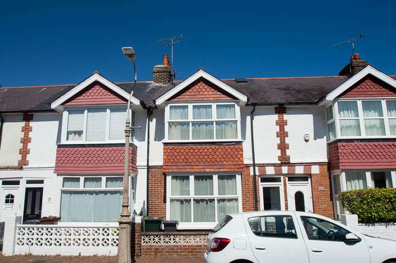 3 Bedrooms Terraced House for sale in Penhale Road, Eastbourne