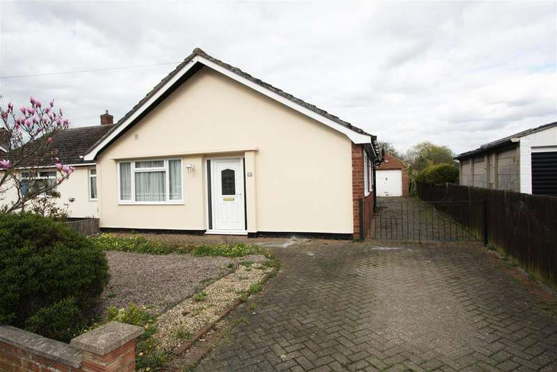 3 Bedrooms Semi Detached Bungalow for sale in Canterbury Road, Werrington, Peterborough