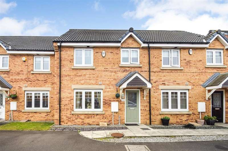 3 Bedrooms Terraced House for sale in Beadnell Drive, East Shore Village, Seaham, Co Durham, SR7