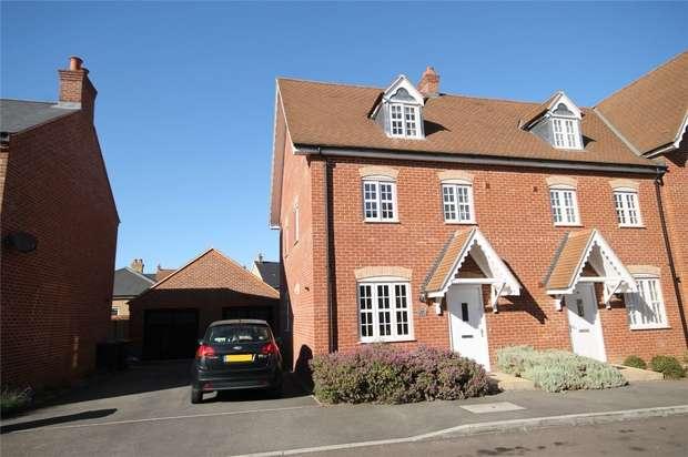 4 Bedrooms End Of Terrace House for sale in Stedeham Road, Great Denham, Bedford