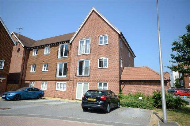 2 Bedrooms Apartment Flat for sale in Outfield Crescent, Wokingham, Berkshire