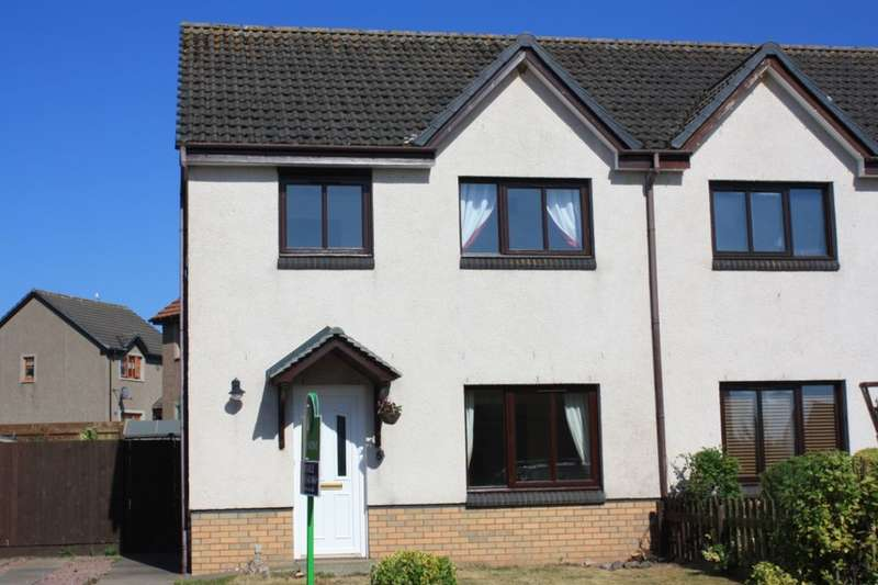 3 Bedrooms Semi Detached House for sale in Bishops Court, Lossiemouth, IV31