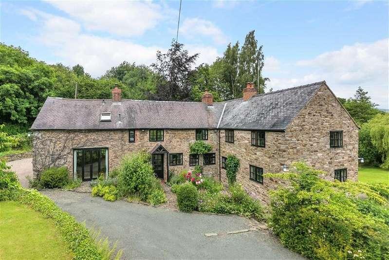 4 Bedrooms Detached House for sale in Winnington, Halfway House, Shrewsbury