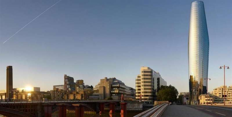 3 Bedrooms Apartment Flat for sale in One Blackfriars, London, SE1