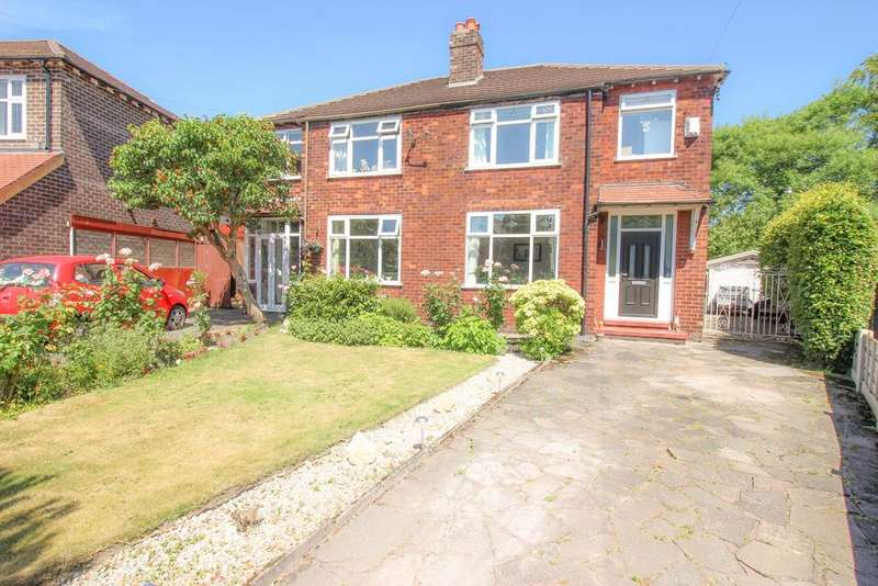 3 Bedrooms Semi Detached House for sale in Hillbrook Road, Offerton, Stockport, SK1