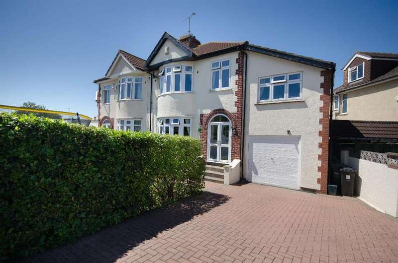 4 Bedrooms Semi Detached House for sale in Badminton Road, Downend, Bristol, BS16 6NW