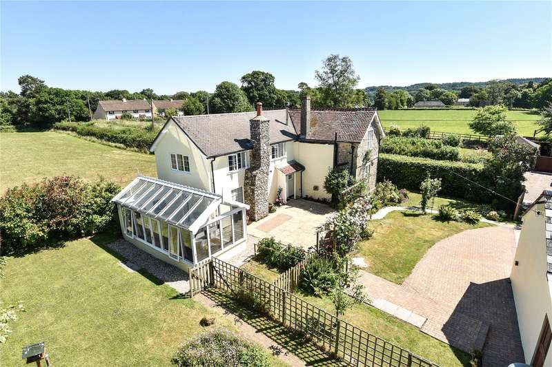 3 Bedrooms Detached House for sale in Cotleigh, Honiton, Devon, EX14