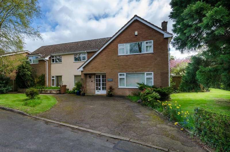 5 Bedrooms Detached House for sale in Grosvenor Crescent, Burbage, Hinckley