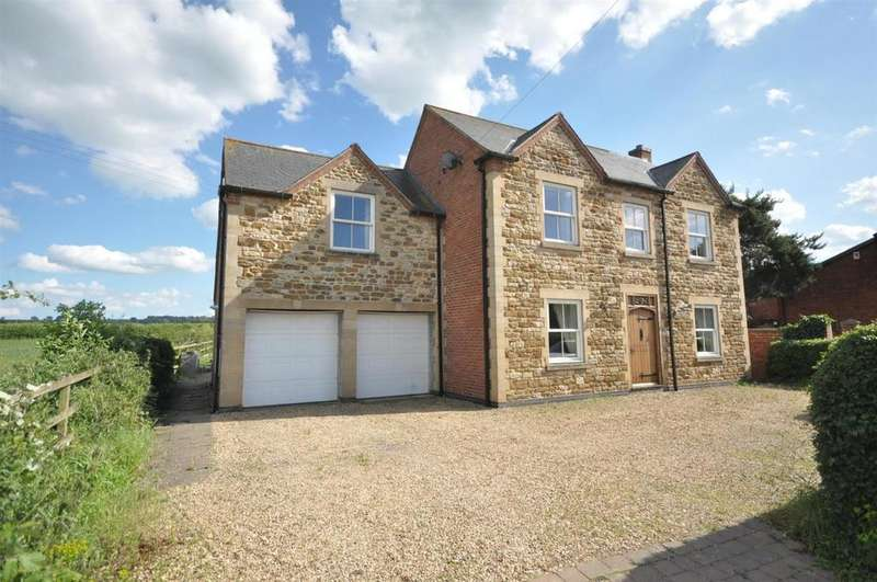 5 Bedrooms Detached House for sale in Stathern Lane, Harby, Melton Mowbray