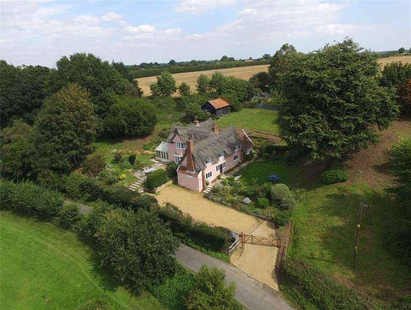 4 Bedrooms Detached House for sale in Lower Ufford, Nr Woodbridge, Suffolk, IP13