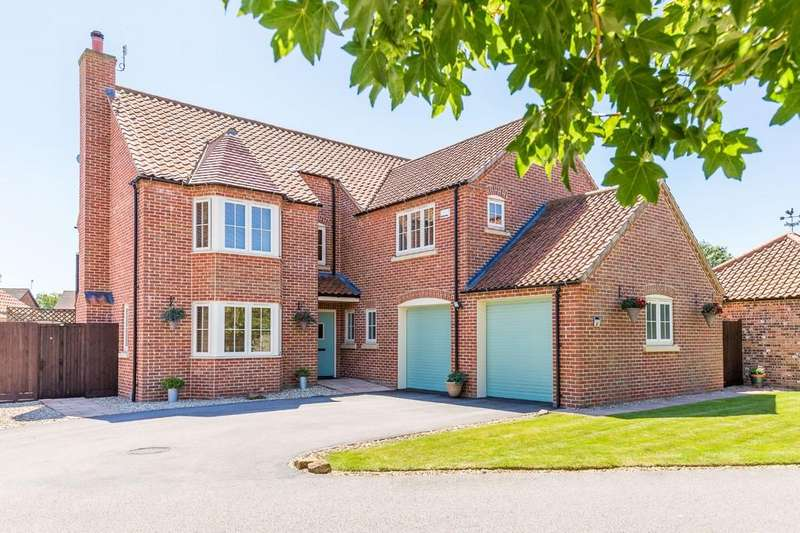4 Bedrooms Detached House for sale in Chestnut Close, Digby, Lincoln