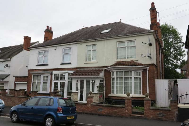 6 Bedrooms Semi Detached House for sale in Fairfield Road, Derby